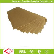 Unbleached 460X710cm Bakery Greaseproof Parchment Paper Sheets