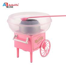 Anbo neuen Stil und einfach zu bedienen schöne Zuckerwatte Maschine macht frische Zuckerwatte Süßwarenhersteller Maschine