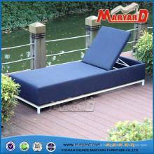 Chaise Lounge de tela tapizada para exteriores