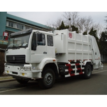Camión de basura comprimido de carga trasera de 12m3 HOWO Sinotruk (QDZ5163ZYSZH)