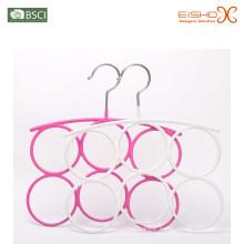 Eisho Ring Scarf Vinyl Metal Hanger