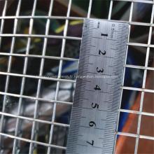 Grillage soudé de grande largeur et fil galvanisé