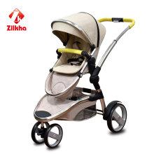 Poussette bébé avec cadre et siège de pressage à chaud