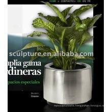 Stainless Steel garden Flowerpot
