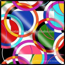 Bufanda exclusiva diseñada personalizada del diseño de la bufanda de seda