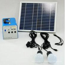 Solar-Home-System der Energie-Lösungs-20W lassen DC-Fans und Fernsehapparate laufen
