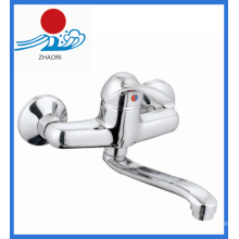 Single Handle Wall Mounted Kitchen Mixer Faucet (ZR21303)