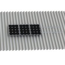 Corrugated Roof Solar L Hook L Shape Kit Montaje en panel solar