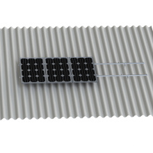 L Foot Solar Panel Roof Mount Kit For Corrugated Sheet