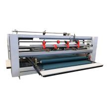Semi Automatic Double Pieces Corrugated Board Carton Folder Gluer Machine