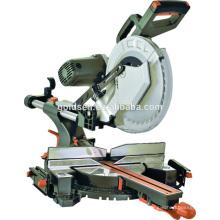 12in 2000w Power Aluminium Holzbearbeitung Schneidsäge Maschine Tragbare Gürtel-getriebene 305mm Doppelte Kegelschieber Gehrungssäge GW8038