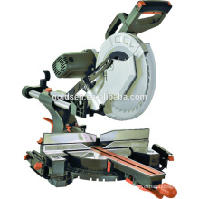 12in 2000w Power Aluminum Wood Working Cutting Saw Machine Portable Belt-driven 305mm Double Bevel Slide Miter Saw GW8038