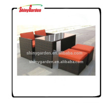 RATTAN/WICKER TABLE AND CHAIR FURNITURE SET SG-FS003