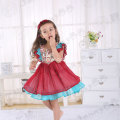 girls Rosa Flamenco remake chiffon dress