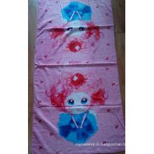 (BC-BT1022) Fashionable Design 100% Velvet Beach Towel