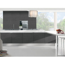 El gabinete de cocina de chapa de madera mejor opción