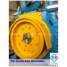 450kg Permanentmagnet synchron getriebelose Aufzug Maschine