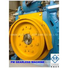 450kg máquina de elevador Gearless síncrono de ímã permanente