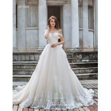 Real pictures of beautiful wedding gowns wedding dress 2017 luxury royal train bride dresses wedding bridal gown