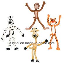 ОЕМ/ОДМ гибкие Животные в зоопарке гибкая фигура игрушки - 4 см в высоту