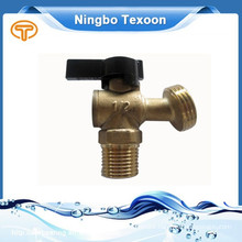 "2015 Hot Sale Low Price 1/2"" Quarter-Turn Low Pressure Brass Sillcock Valves black handle"