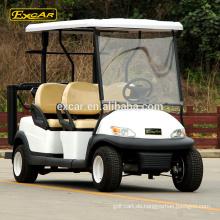 EXCAR 48V 4 Sitzer elektrische Kraftstoffart Golfwagen, Trojan Batterie Golf Buggy Wagen zu verkaufen