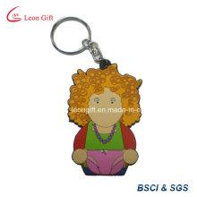 Porte-clés PVC vente chaude personnalisé pour cadeau de Promotion