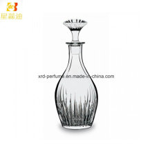 Perfume de perfume de venta caliente con botella de vidrio