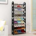 8 Tier Free Standing Shoe Rack Stand Storage Organiser Shelf Rack