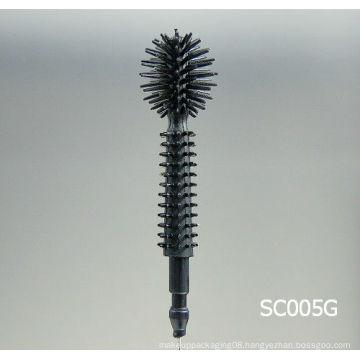 silicone mascara brush