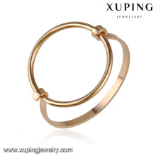 51646 Xuping 18k gold plated color jewelry baby bangles