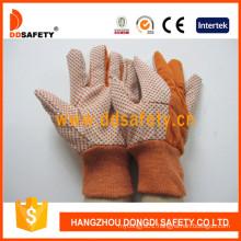 Garden Gloves Polka Orange Dots Safety Gloves Dcd205