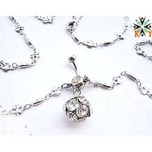 Cadenas atractivas del vientre de la joyería de la cadena del cuerpo de la India