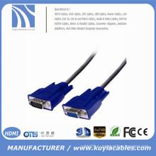 SVGA VGA-кабель HDB15 между мужчиной и женским удлинителем
