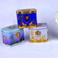 Color personalizado de exportación de la caja de estaño de té de té para el regalo