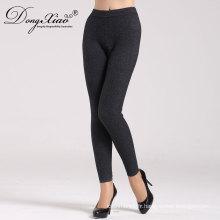 2017 Hiver Blanc 100% Cachemire Long Chaud Nitht Lady Euro Classique Pantalon
