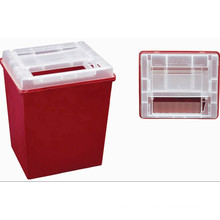 Disposable Medical Plastic 8.0L Sharp Container