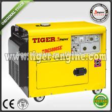 Дизель-генератор 5kw генератор постоянного магнита TDG6000SE