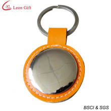 Conception simple promotionnel Leather Keychain