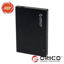 Boîtier HDD externe 2,5 '' avec interface USB2.0 + eSATA