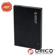 Gabinete HDD externo de 2,5 '' com interface USB2.0 + eSATA