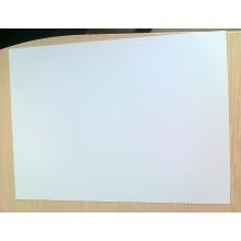 Feuille de PVC blanche mate pour matériel de cartes