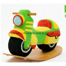New Design Wooden Rocking Motorcycle-Motorcycle Rocker