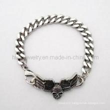Gothic Bike Man Bangle Jewelry