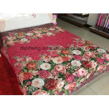 Soft e confortável 100% algodão impresso tecidos de tecido por atacado