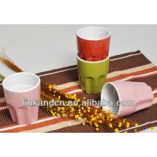 KC-00124/wholesale ceramic cups/polygon cups