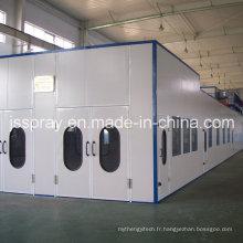 Grande cabine de pulvérisation de peinture industrielle non standard Spl-N1