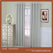 2016 fornecedor quente da decoração da casa da venda alta qualidade com material do algodão cortina da tela da janela