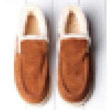Calçados quentes inverno sapatos masculinos mocassin sapatos