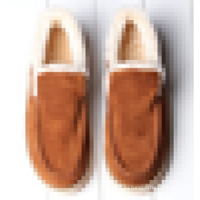 Теплые зимние повседневная обувь мужчин мокасины обувь